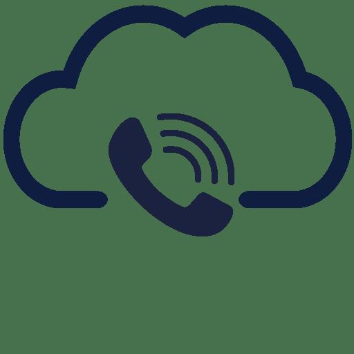 telephone in cloud